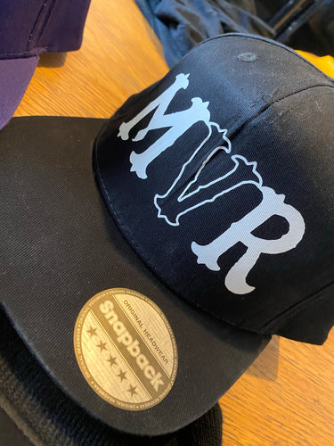 MVR Black & white  official SnapBack (FREE STICKERS)