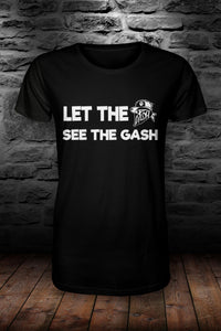 Let the DASH see the .... T shirt Black & white