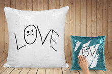 Load image into Gallery viewer, Lil Peep 'LOVE' pillow case