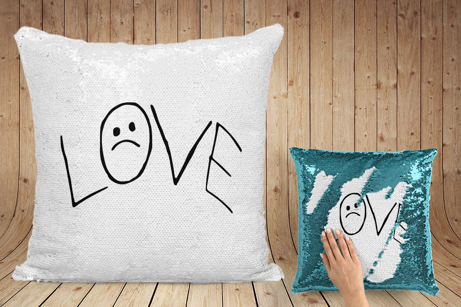 Lil Peep 'LOVE' pillow case