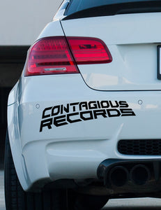 Contagious Records official bumper sticker