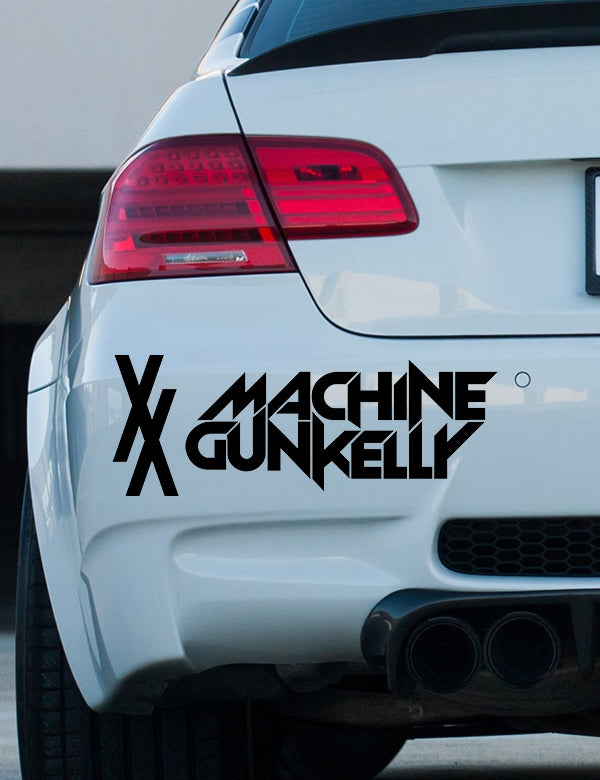 MGK XX bumper sticker
