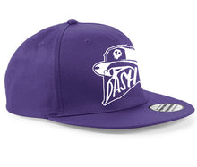 Load image into Gallery viewer, DASH Purple & white official SnapBack