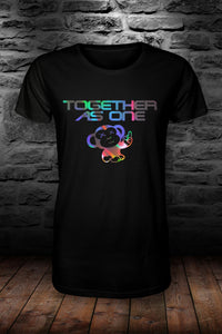 LIMITED EDITION TAO - Together as one official t shirt Black & Reflective