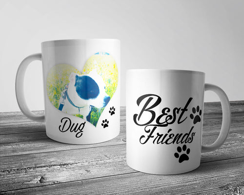 Your Dogs Name - Best Friends Dog Mug (Personalised)