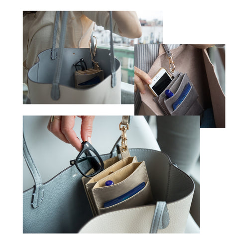 4 Pocket: Handbag Helper