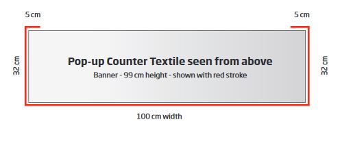 Pop-up Counter Textil