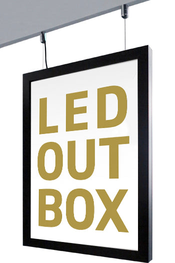 CROWN LED Outdoor Box Doppelseitig