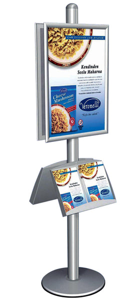 Multistand 2 Info-Display Doppelseitig