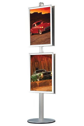 Multistand 12 Doppelseitiger Info-Display