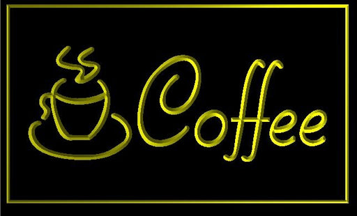"LED Schild ""Coffee"""