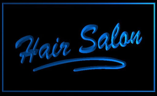 "LED Schild ""Hair Salon"""