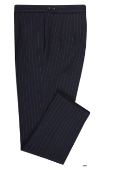 Minnis Fresco Navy Multistripe