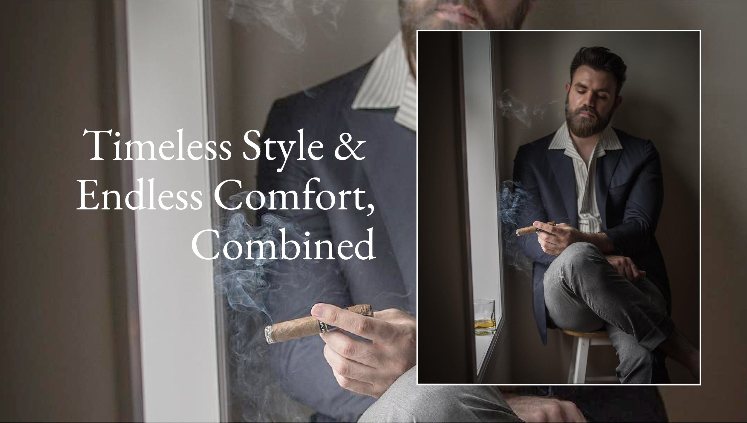 Timeless Style & Endless Comfort,Combined