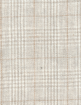 Light Tan Glen Plaid Linen
