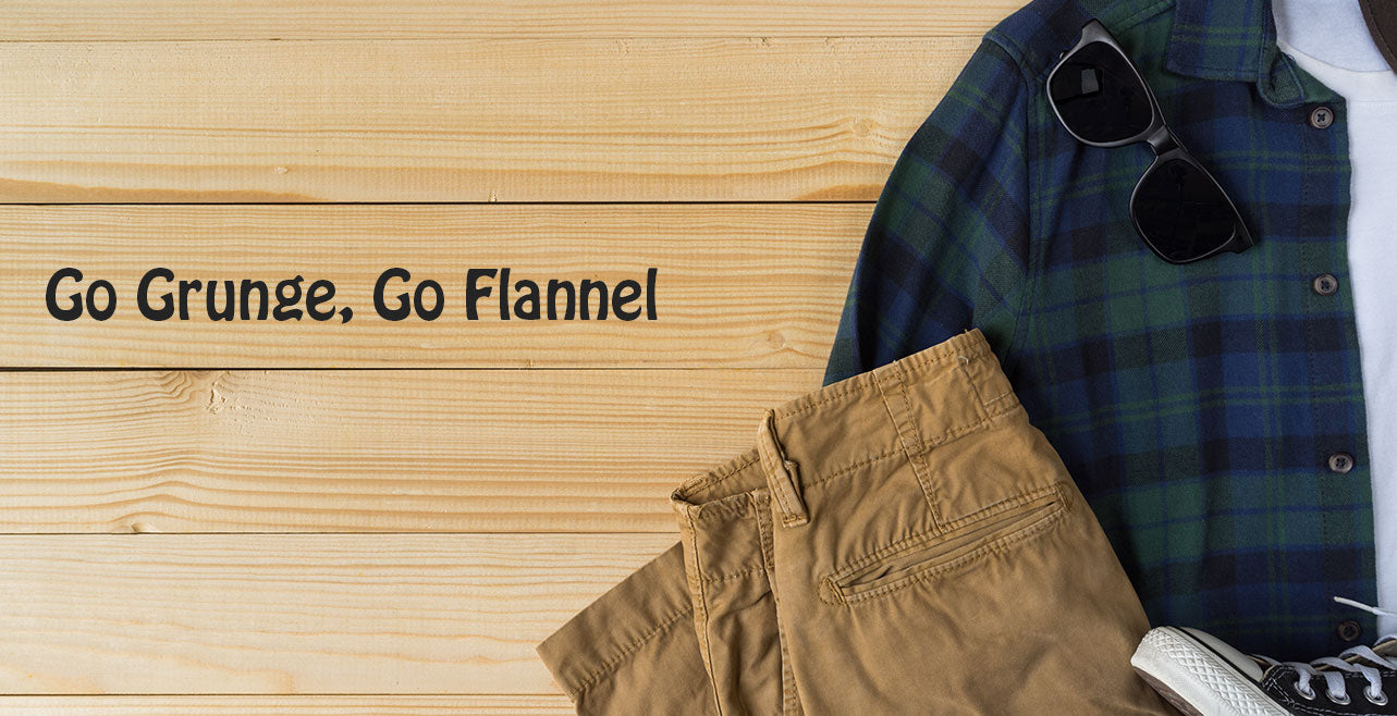 Range of flannel shirts