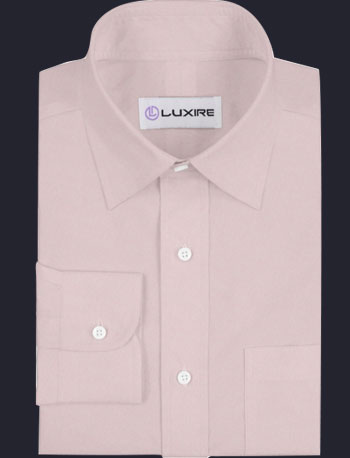 Light Pink Pinpoint Oxford