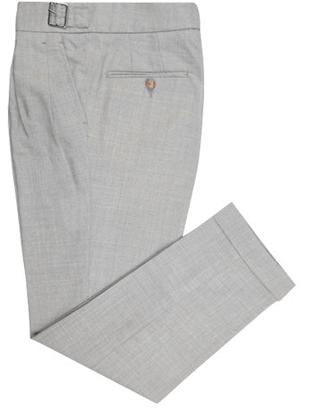 Washable Wool Pants: Grey