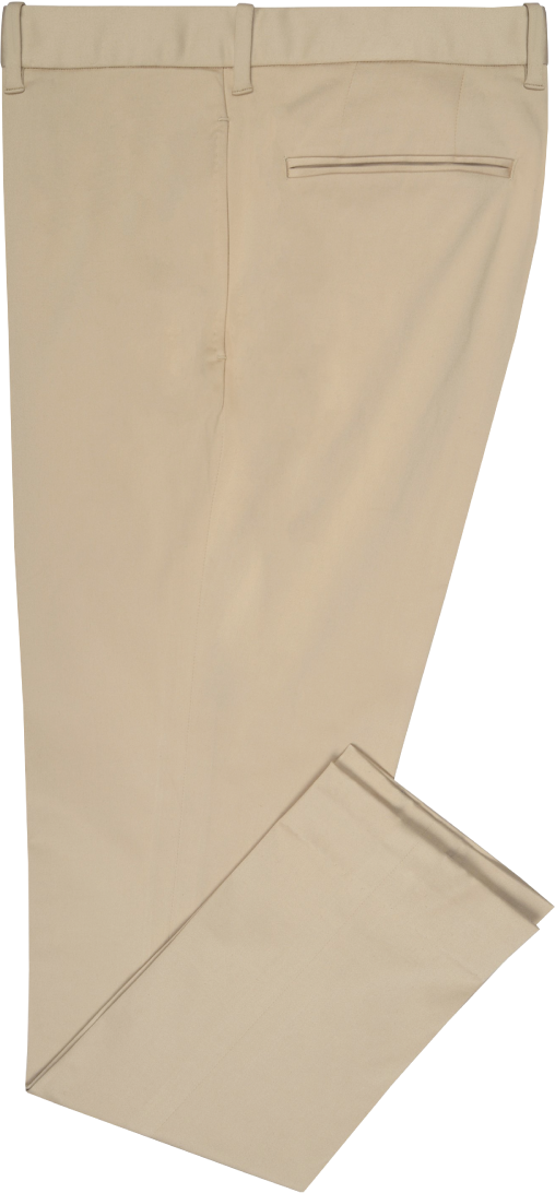 Beige Soft Stretchable  Chino