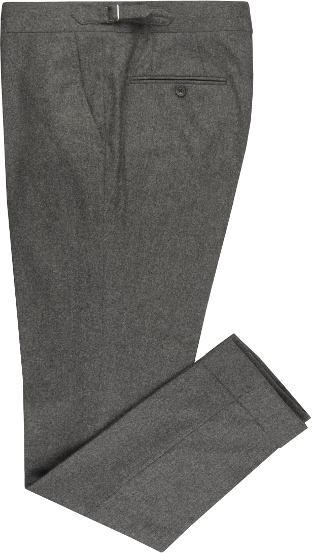 VBC 100% Wool:  Dark Grey Flannel