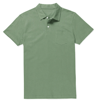 Sage Green Polo T-Shirt