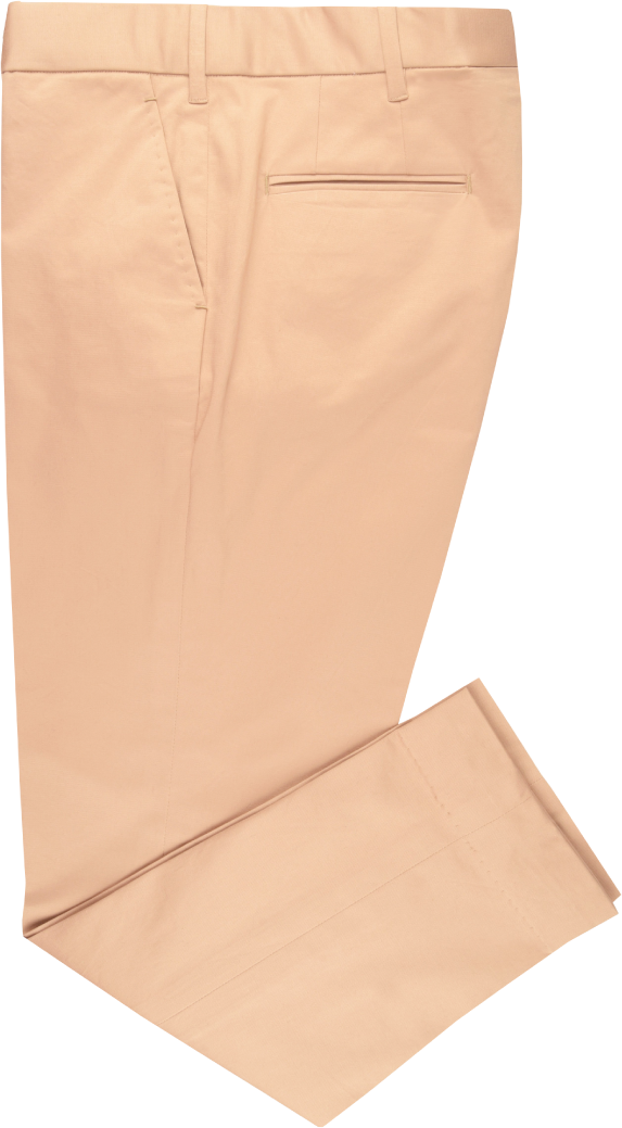 Beige Stretchable Chino