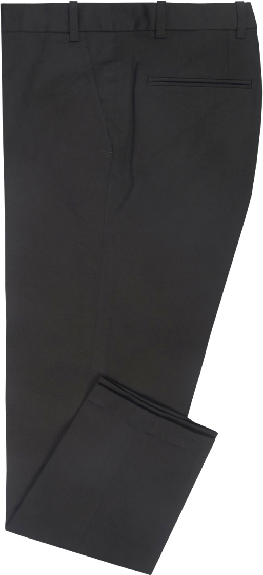 Black stretchable Chino