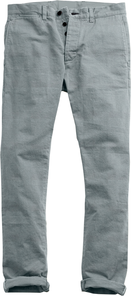 Blue-Grey Light  Twill Chino
