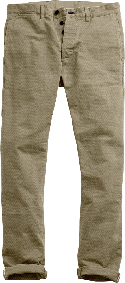 Light Military Khaki  Soft Chino