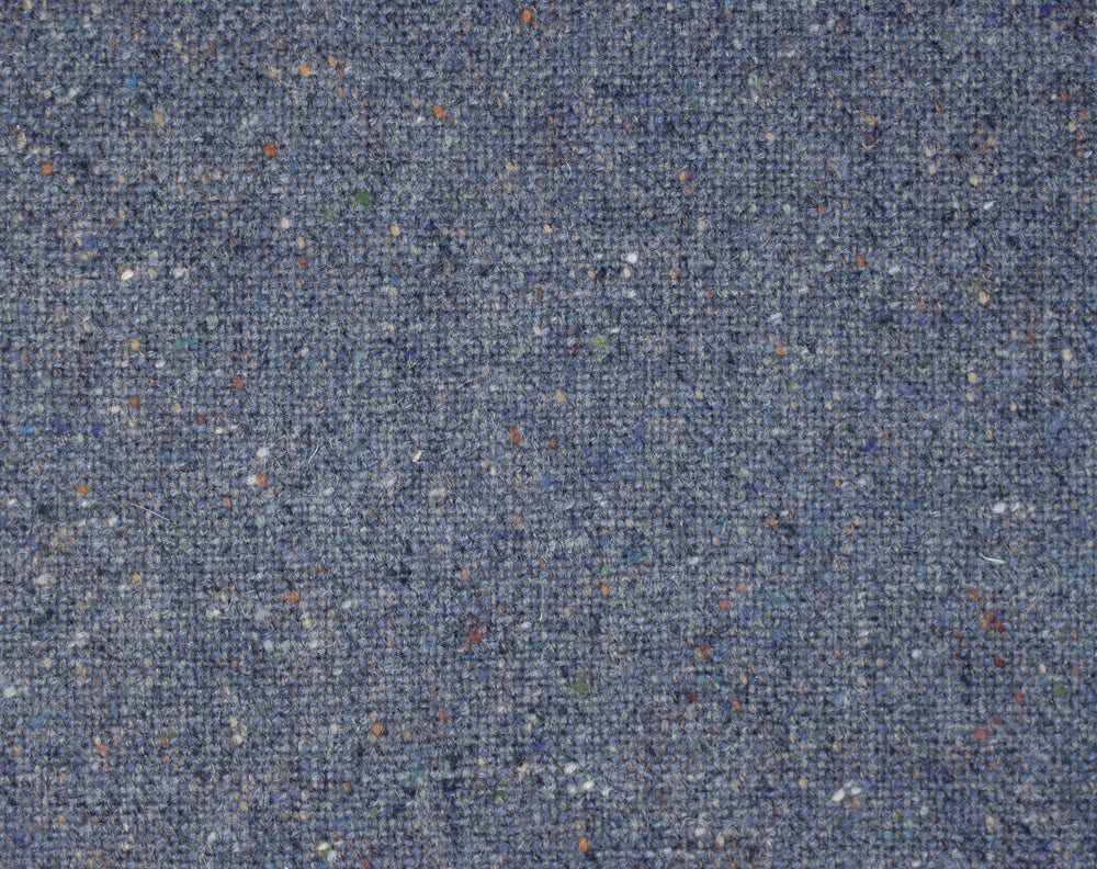 Molloy Plain Donegal Tweed Pants - Indigo