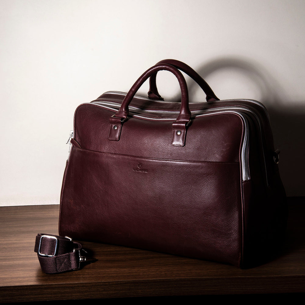 Leather Large Travel Bag