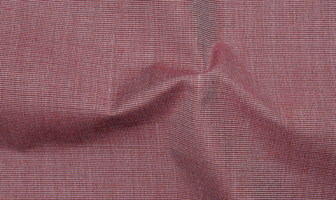 Cotton Poly: Dark Red End On End