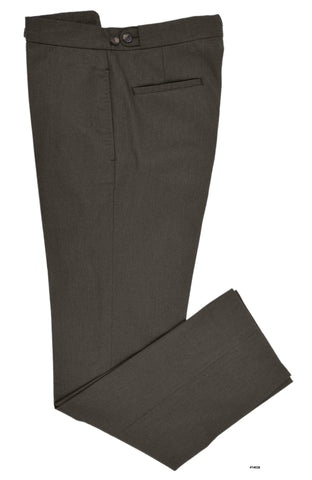 Soft Brown Cotton Twill  Pants