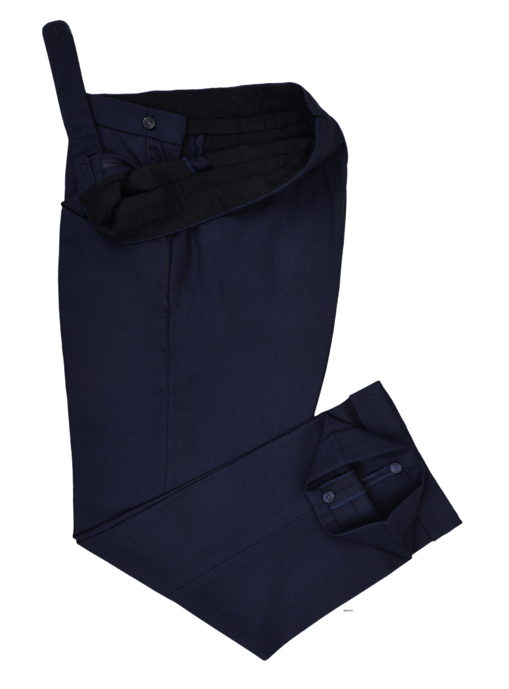 Delfino Navy Winter Hopsack