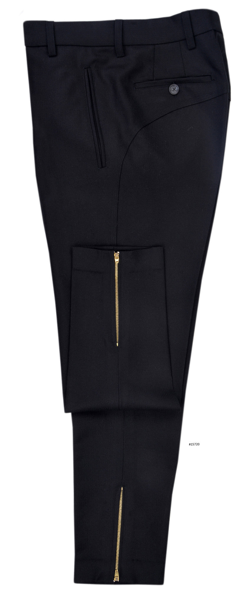Dugdale Royal Classic - Narrow Black Dress Herringbone