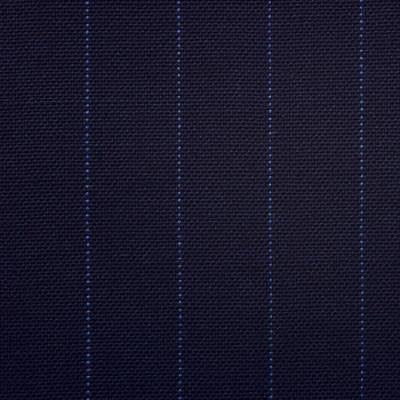 Dugdale Fine Worsted - Navy with Blue Pin Stripe