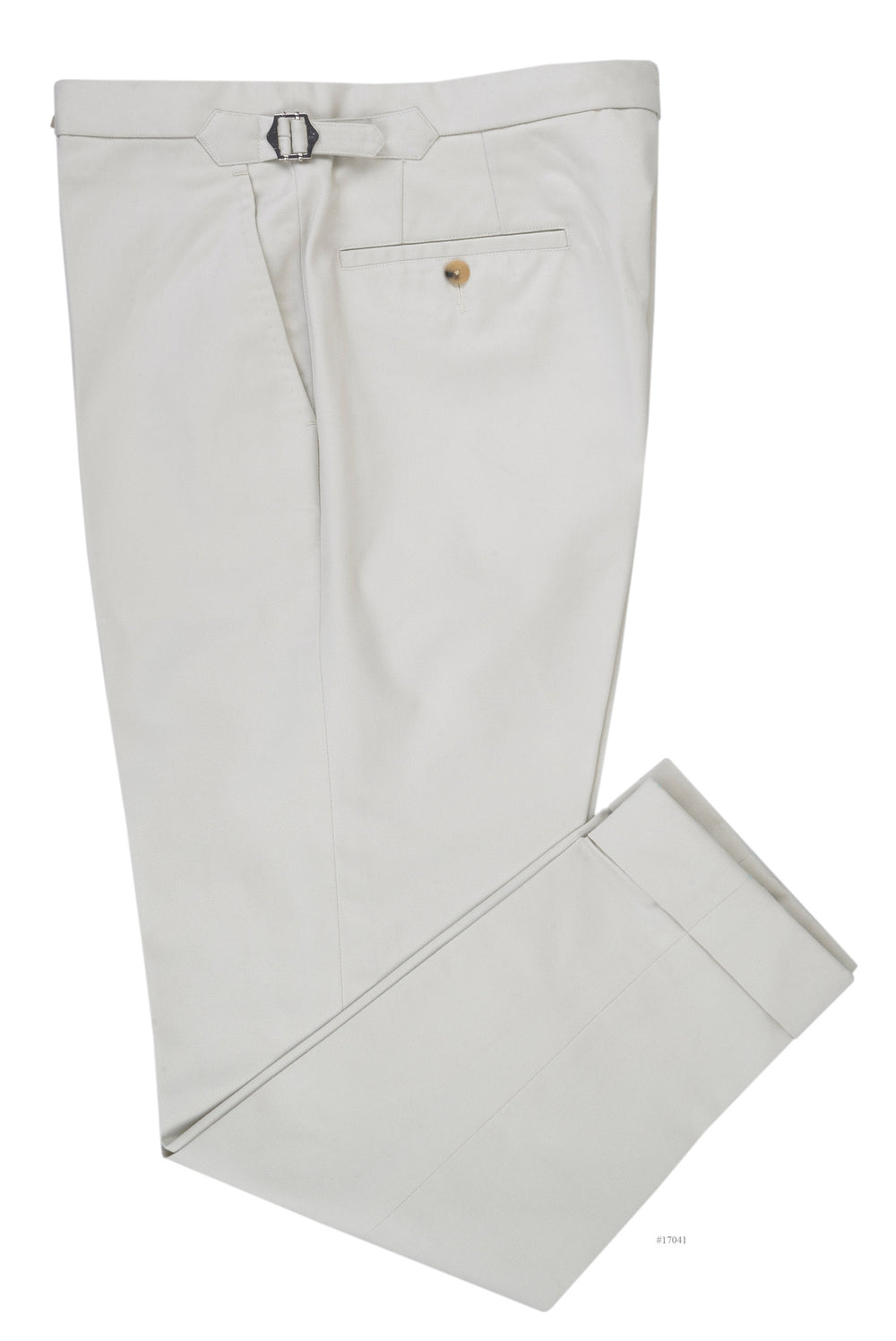 Cream Twill Chino