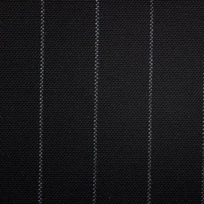 Dugdale Fine Worsted - Black Chalk Stripe