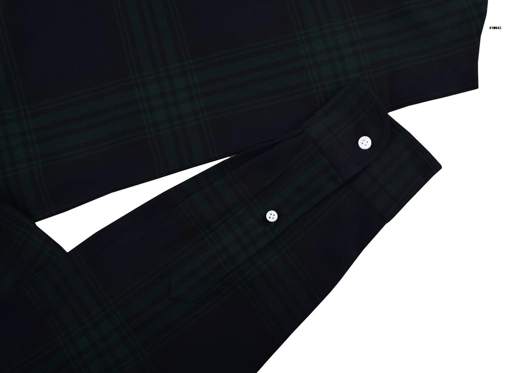 Green Checks On Navy Twill Blackwatch (4208364868)