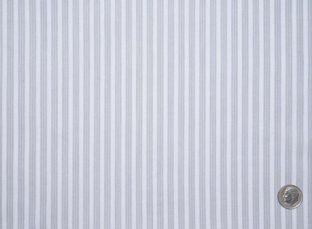 Grey White Candy Stripes
