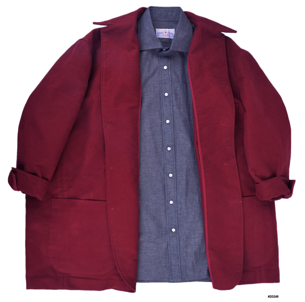 4-Button Shirt Jacket