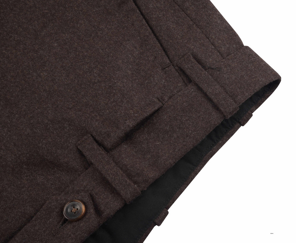 Minnis Flannel-Brown Plain