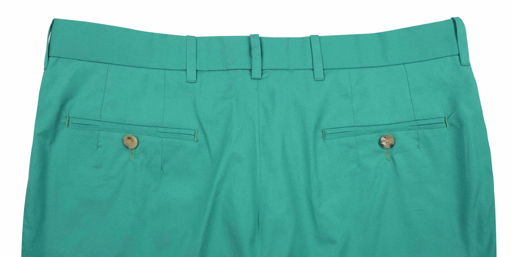 Irish Green Cotton Pants / Shorts