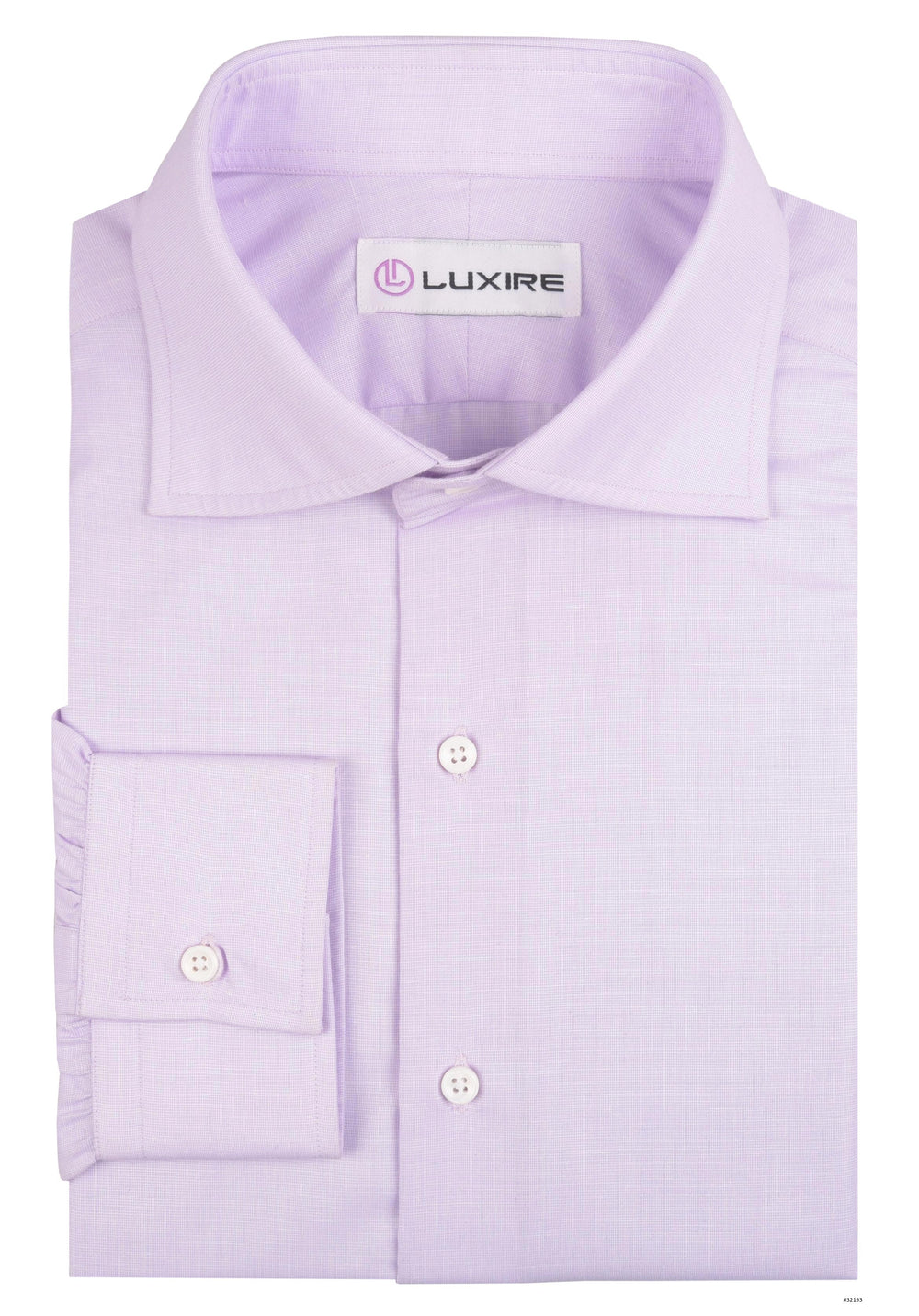 068586f7 Cotton Poly: Purple End On End – Luxire Custom Clothing
