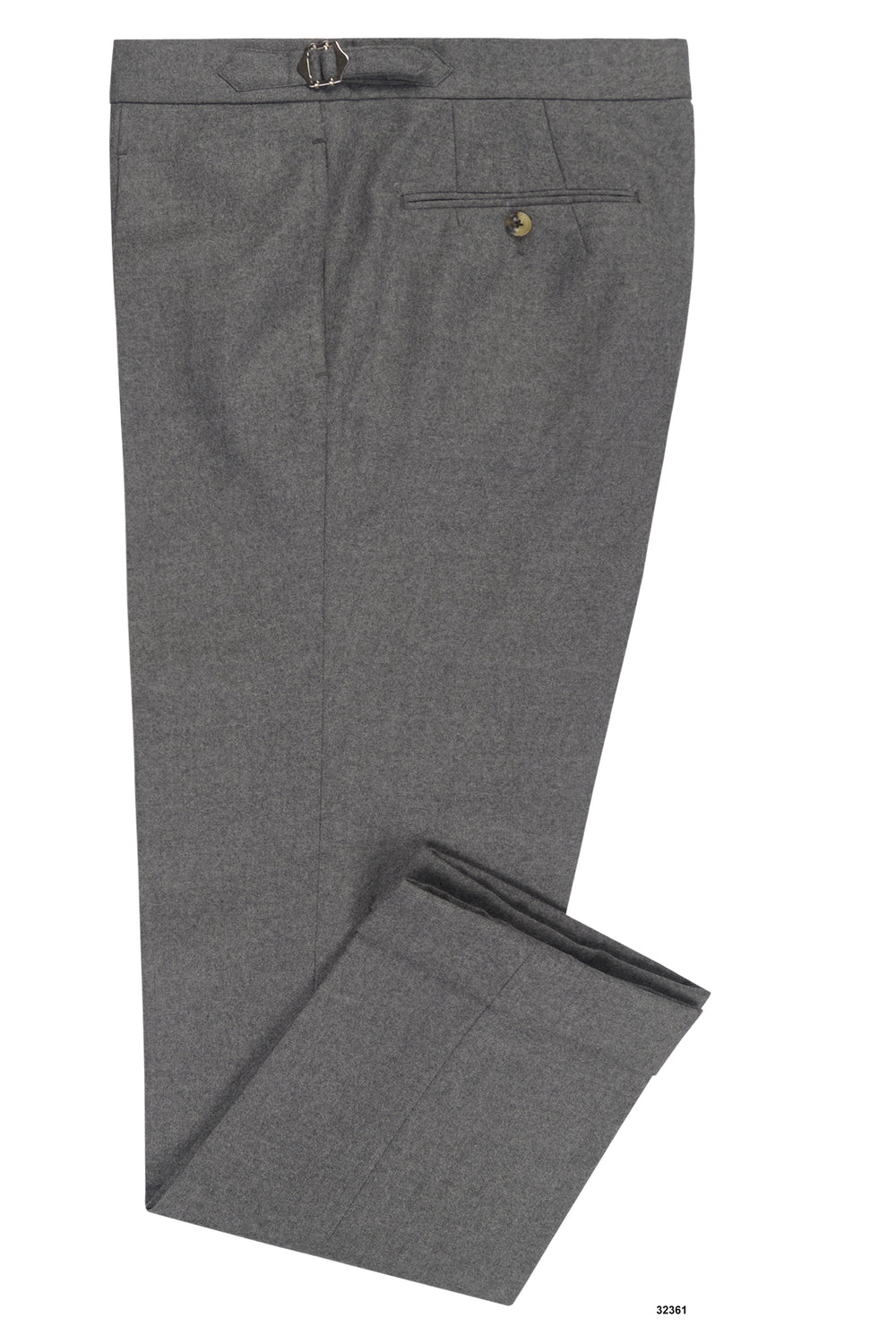 Holland Sherry Classic Worsted Flannel Dark Grey With Light Grey Flannel