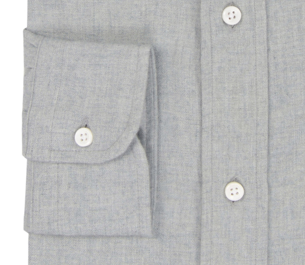 Cashmerello Alumo: Light Grey Cotton Twill