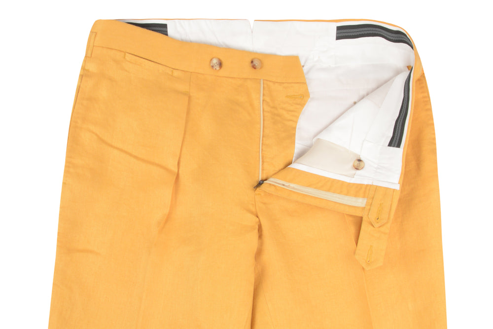 Linen: Sunset Yellow Twill (260057945)