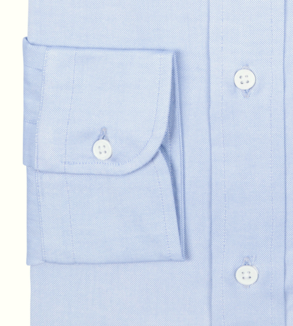 Grandi & Rubinelli Pale Blue Oxford