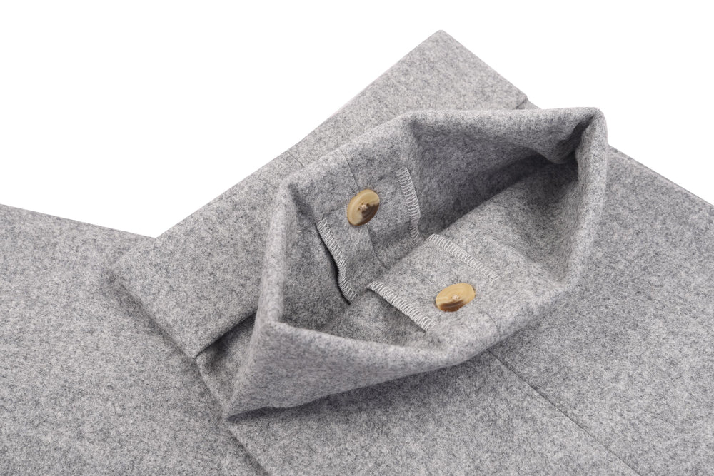 Minnis Flannel-Light Grey Plain