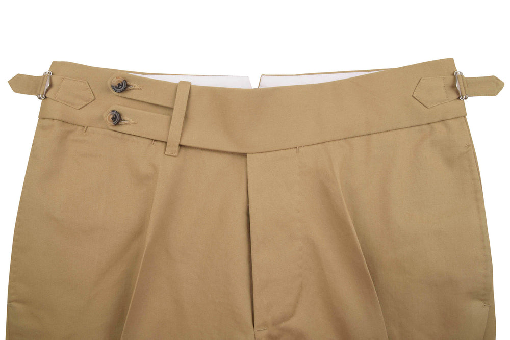 Soft Khaki Twill Light Chino